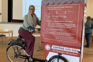 Gemeinsam gegen einsam -Info-Bike - Yvonne Willicks